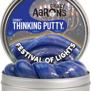 """Festival of Lights 4"""" Cosmic Glow Thinking Putty"""