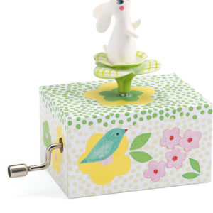 Hand Crank Music Boxes Rabbit in the Garden
