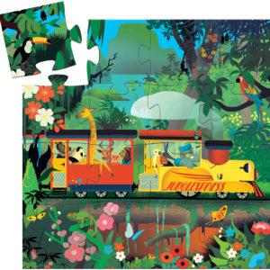 Silhouette Puzzles The Locomotive - 16pcs