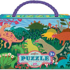 Dinosaur Meadow 20 Piece Puzzle