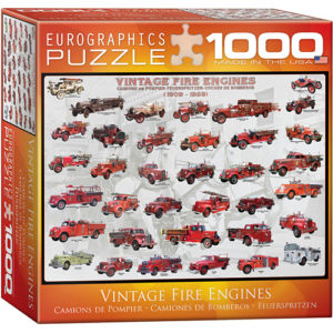 Vintage Fire Engines 1000-Piece Puzzle (small box)