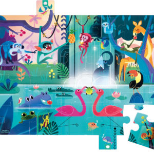 "Surprise Puzzle- ""Feast In The Jungle"" - 20 Pcs"