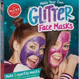 Make Your Glitter Face Masks