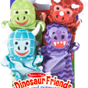 Dinosaur Friends Hand Puppets