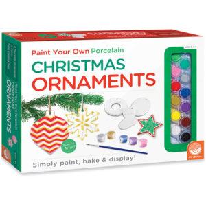 Paint Your Own Porcelain: Christmas Ornaments