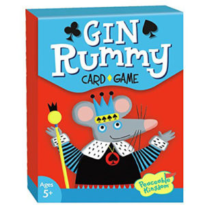 Peaceable Kingdom Gin Rummy Card Game