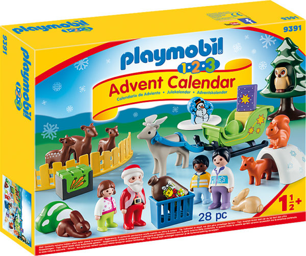 1.2.3 Advent Calendar - Christmas in the Forest