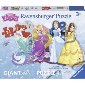 Pretty Princesses (24 pc Shaped Floor Puzzle)