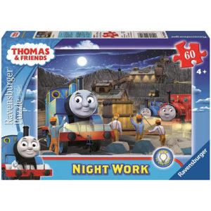 Night Work (60 pc Glow-in-the-Dark Puzzle)