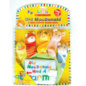 Little Scholastic: Old Macdonald: A Hand-puppet Board Book