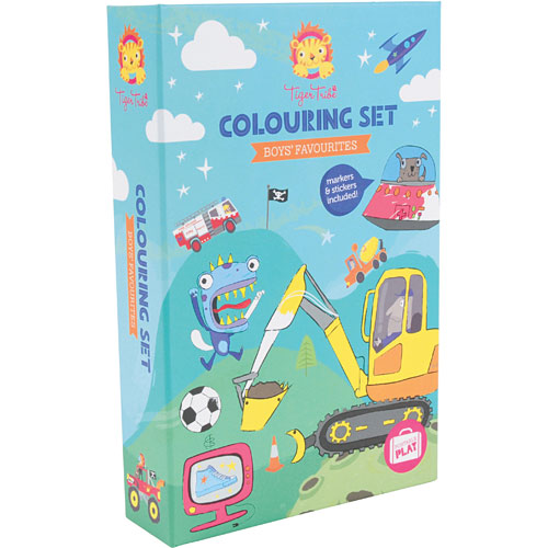 Boys Favourites - Coloring Set