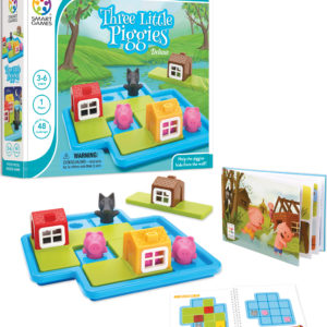 SmartGames Three Little Piggies - Deluxe