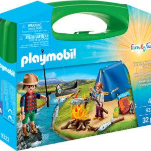 Playmobil Camping Adventure Carry Case Set