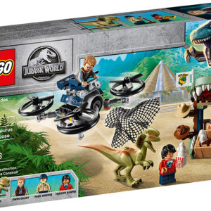 LEGO® Jurassic Park® - Dilophosaurus on the Loose