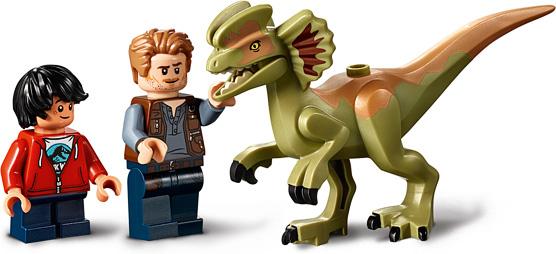 LEGO® Jurassic Park® - Dilophosaurus on the Loose