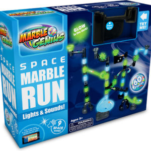 Light & Sound Space Marble Run - 60 piece