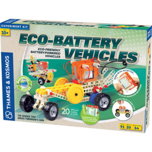 Batteries & Energy: Engineer Eco-Battery Vehicles