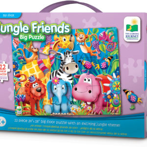 My First Big Floor Puzzle - Jungle Friends