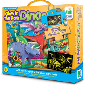 Puzzle Doubles - Glow In The Dark - Dino