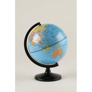 """Round World Products Save The World 5.6"""" Coin Bank"""
