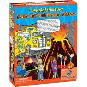 Blasting Off With Erupting Volcanoes