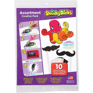 Shrinky Dinks Creative Pack 10 Sheet Pack Assortment