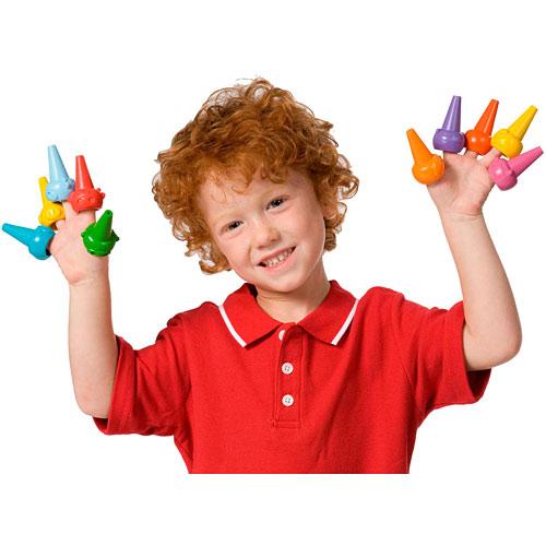 ALEX Discover Farm Finger Crayons