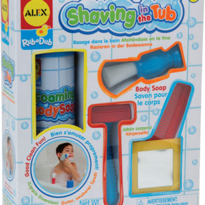 ALEX Toys Rub a Dub Shaving in the Tub