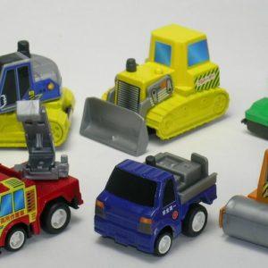 6 Construction Trucks In Bag-12
