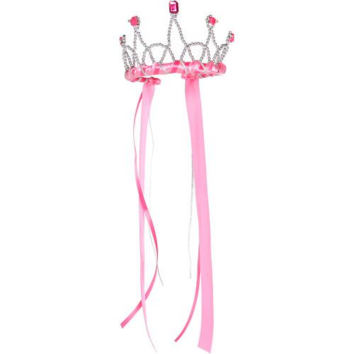 Ribbon Tiara (dark Pink)