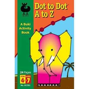 Buki Dot to Dot A to Z Activity Book