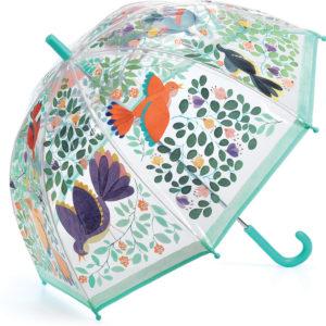 Umbrellas Flowers and Birds