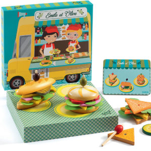 Role Play Emile & Olive Food Truck