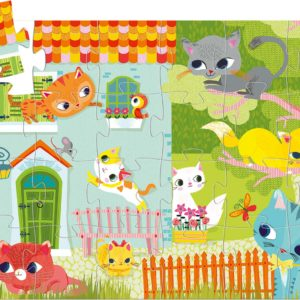 Silhouette Puzzles - Pachat And His Friends - 24pcs