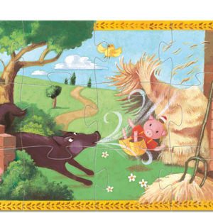 Silhouette Puzzles - The 3 Little Pigs - 24pcs