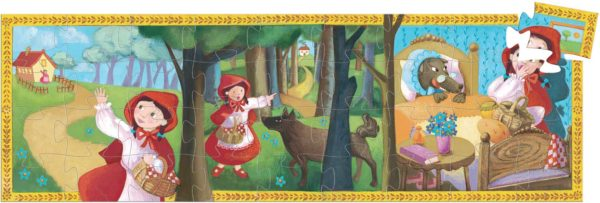 Silhouette Puzzles - Little Red Riding Hood - 36pcs