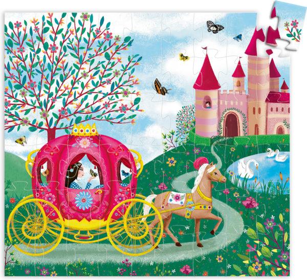 Silhouette Puzzles Elise's Carriage - 54 pcs