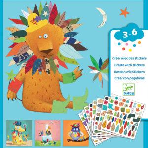 Petit Gifts - Sticker Kits Create Animals