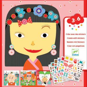 Petit Gifts - Sticker Kits Make-A-Face