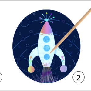 Petit Gifts - Scratch Cards Cosmic Mission
