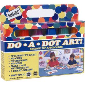 Dot-Art Markers 6-pk Rainbow [Washable]