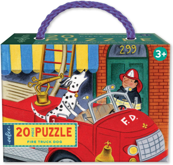 Fire Truck Dog 20 Piece Puzzle