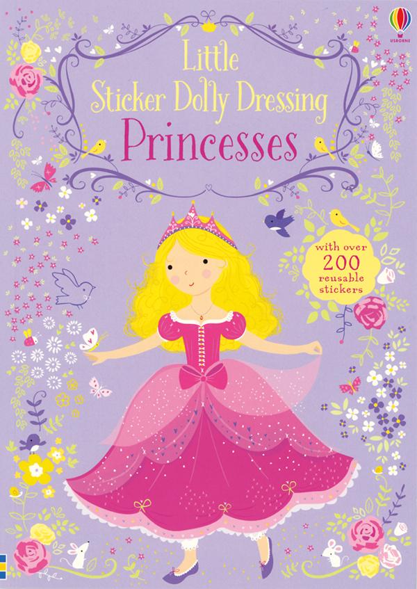 Little Sticker Dolly Dressing Princesses