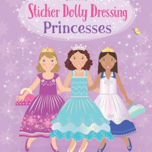 Sticker Dolly Dressing Princesses