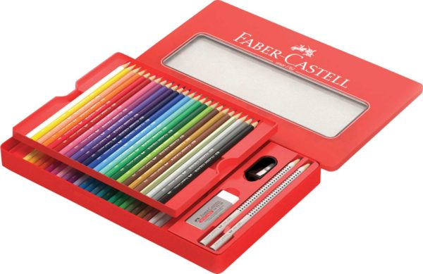 48ct Classic Color Pencil & Sketching Tin Set