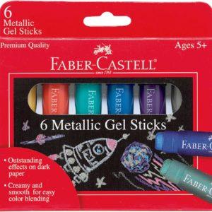 6 ct Metallic Gel Sticks