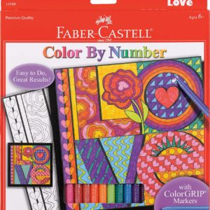Color By Number LOVE