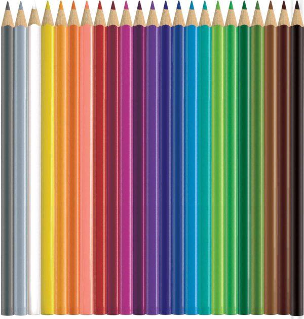 24 ct Triangular Colored EcoPencils