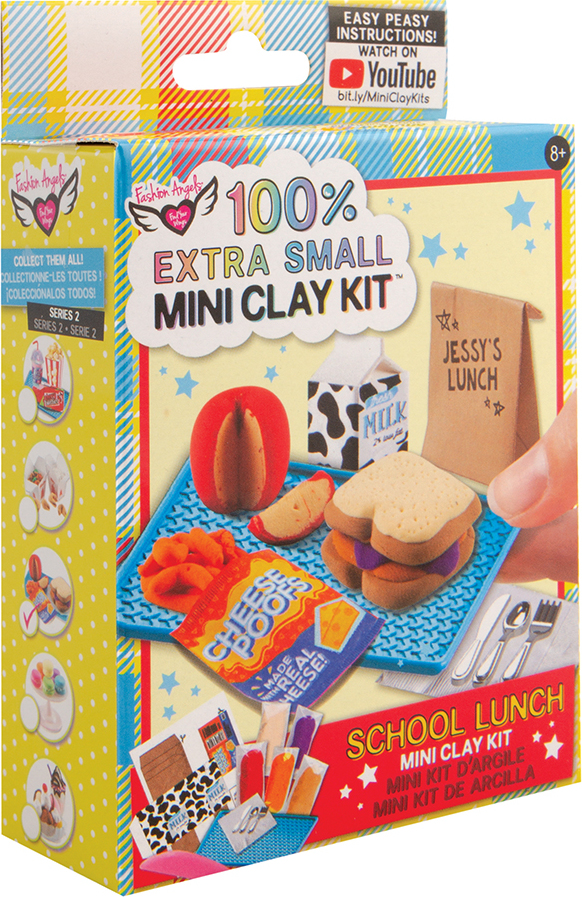 100% Extra Small Mini Clay Kit - School Lunch