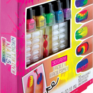 Neon Tie Dye Nails - Mani Deisgn Kit